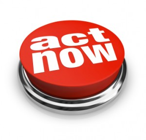 act now call to action